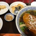 【幡ヶ谷】「龍口酒家チャイナハウス」で麺セットランチ