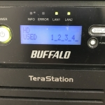 TeraStation(NAS)のHDD全換装