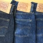 写真でみるリーバイス501レギュラー⑹-1998年米国製と2000年米国製・洗濯はもっと慎重に!