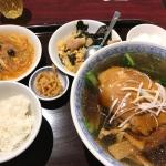 【幡ヶ谷】「龍口酒家チャイナハウス」で麺セット