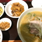 【幡ヶ谷】「龍口酒家チャイナハウス」で麺セット(ゴマ味噌味)