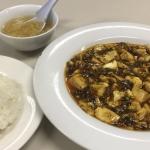 東京お役所ごはん14-新宿区役所「お食事処けやき」で麻婆豆腐を食す